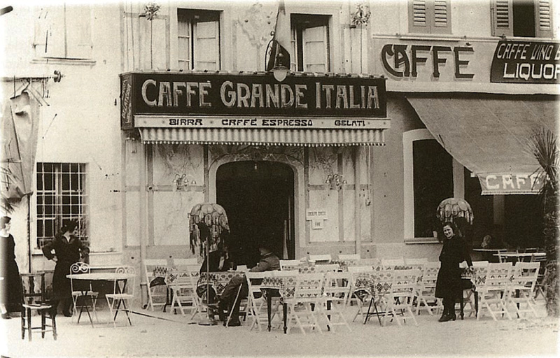 visualizes historical European coffee house, provides context
