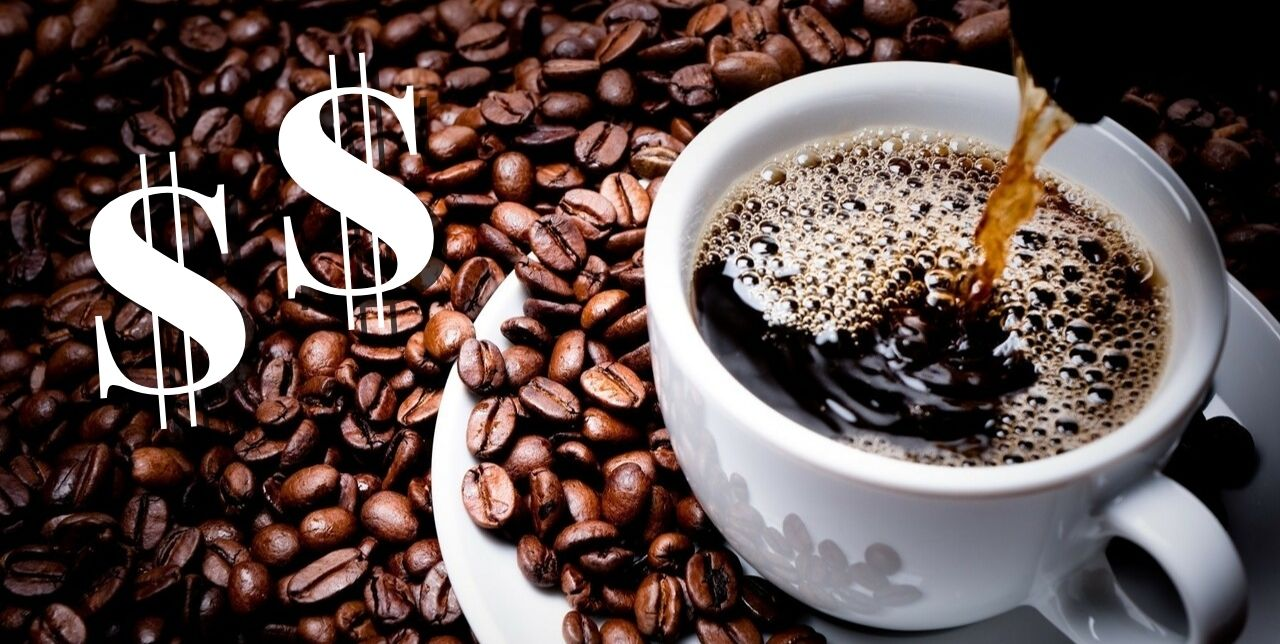 analogizes idea of most expensive coffee in the world